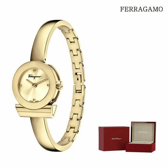 페라가모 간치니 브레이슬릿 시계(옐로우골드)