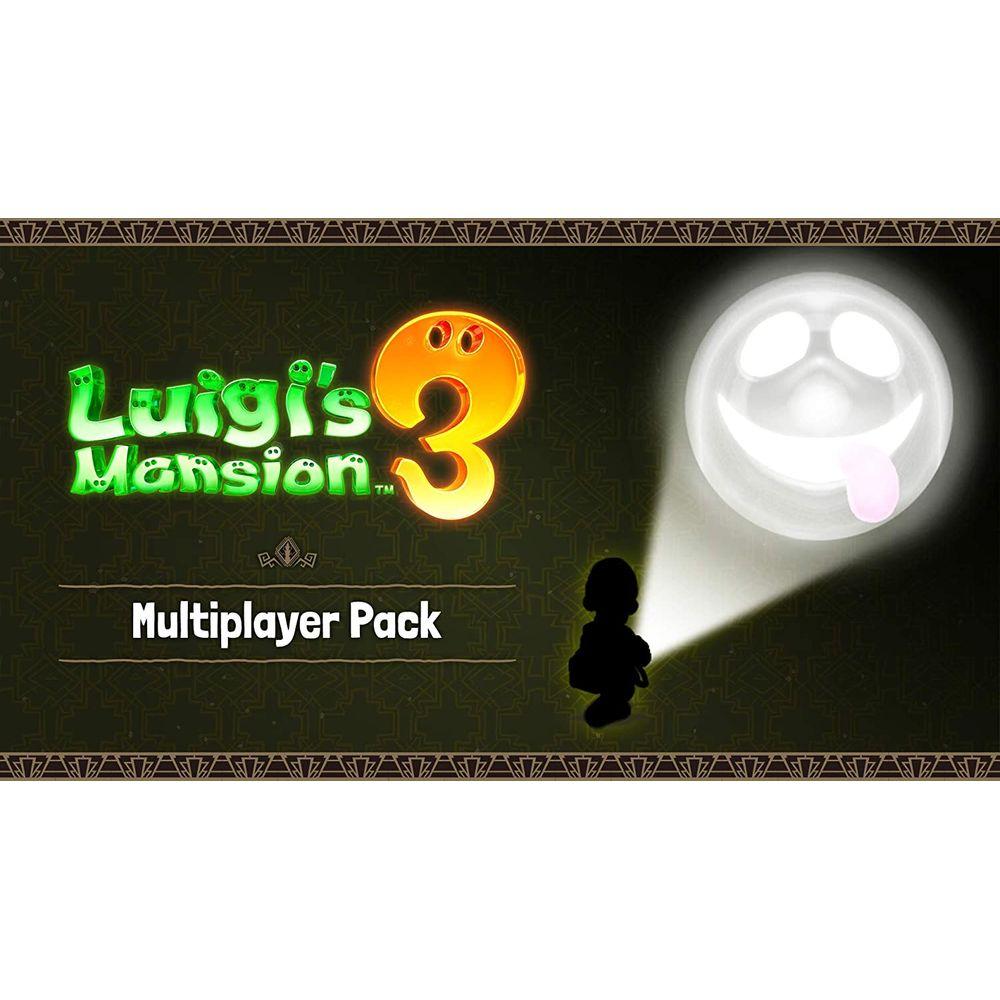 닌텐도 (미국정품 스위치) 루이지 맨션3 Luigi's Mansion 3 멀티플레이어팩 DLC(디지털코드용), 상세창조