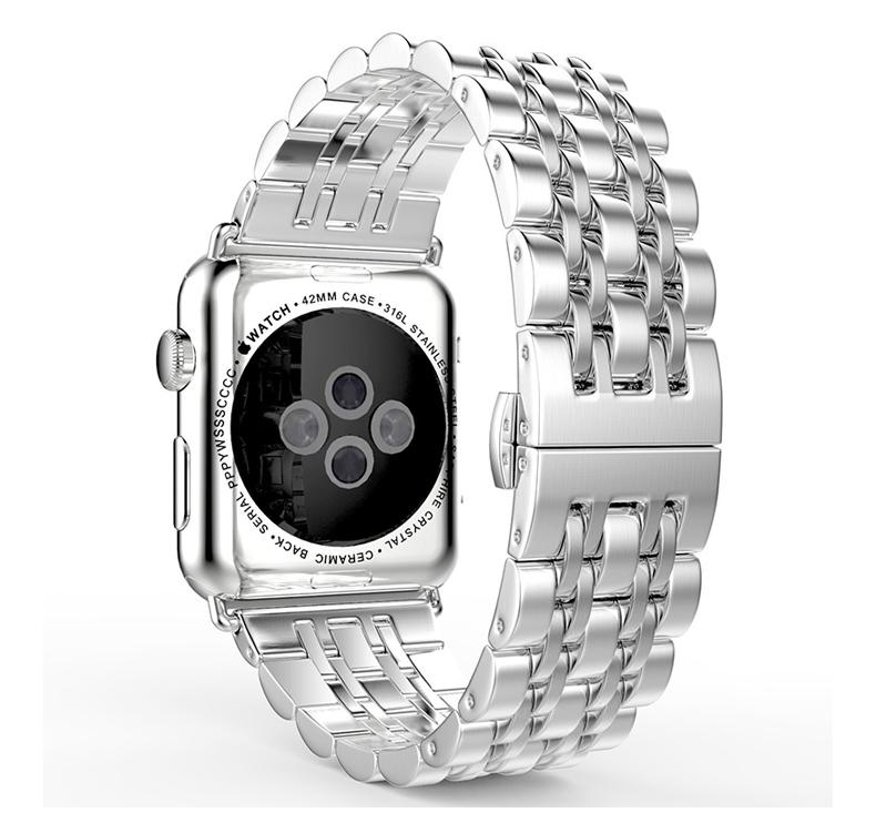 오리하우스 미네르바 미네르바 애플워치쥬빌레Apple Watch6 스트랩 금속 세 구슬 스테인리스 사과에 적합-14715, 03. iwatch4 / 5 / 6, 옵션10