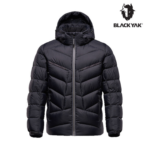 [블랙야크] 남성 스코프 다운자켓 블랙 1BYPAW9007