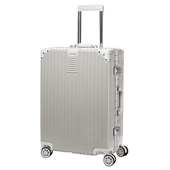 럭키플래닛 뉴엣지 프렌치그레이 21인치 기내용 하드캐리어 여행가방 캐리어