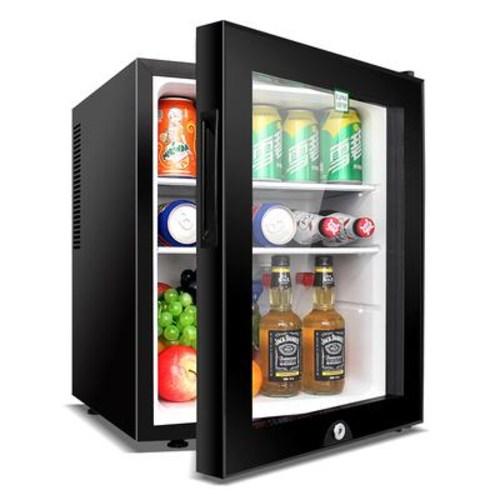 미니 소형 가정용냉장고 술장고 쇼케이스 20인치 30인치 40인치, 블랙 (POP 5504793891)