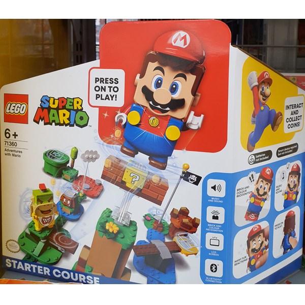 코스트코 LEGO SUPER MARIO 레고 슈퍼마리오 스타터팩 71360, 단일제품