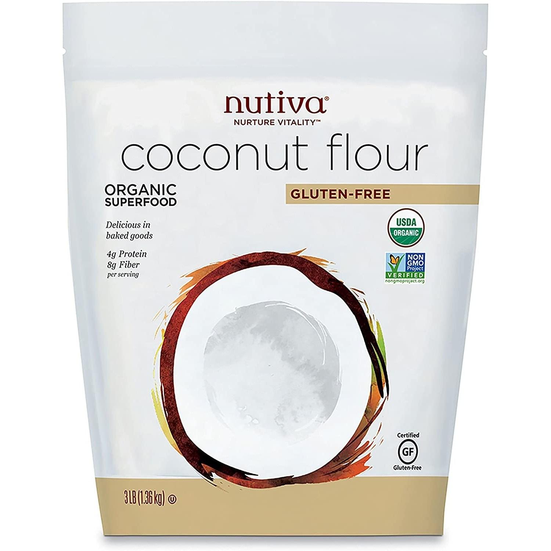 누티바 코코넛 플라어 글루텐-프리, 1개, 1.36kg