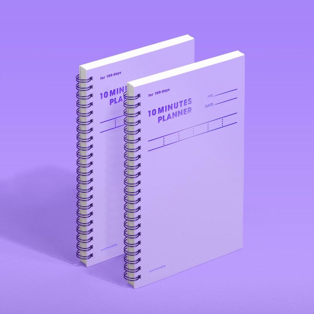 모트모트 텐미닛 플래너 100days - 바이올렛 (2EA)