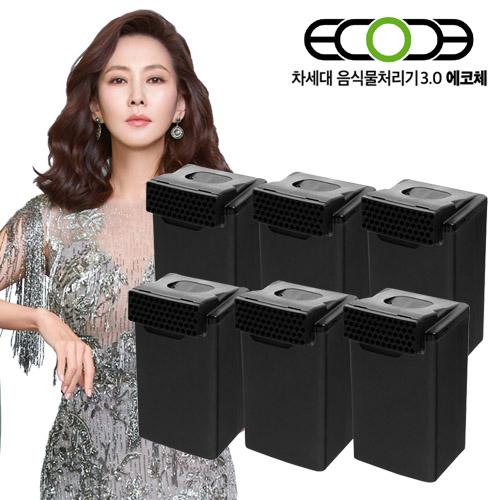 에코체 음식물처리기 ECC-888 정품필터(6세트) (POP 5410299836)