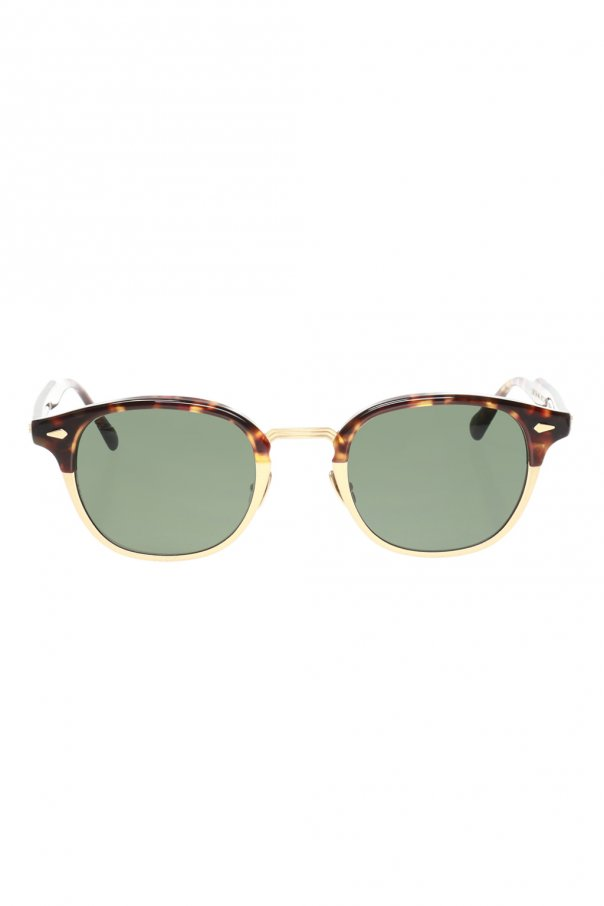 Moscot 'Lemtosh' eyeglasses 로고 LEMTOSH MAC SUN 0-TORTOISE MATTE GOLD 150불 이상 주문시 부가세 별도