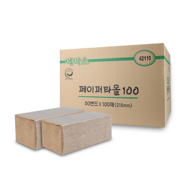 갈색 핸드타올 5000매 페이퍼타올 (POP 2202631060)