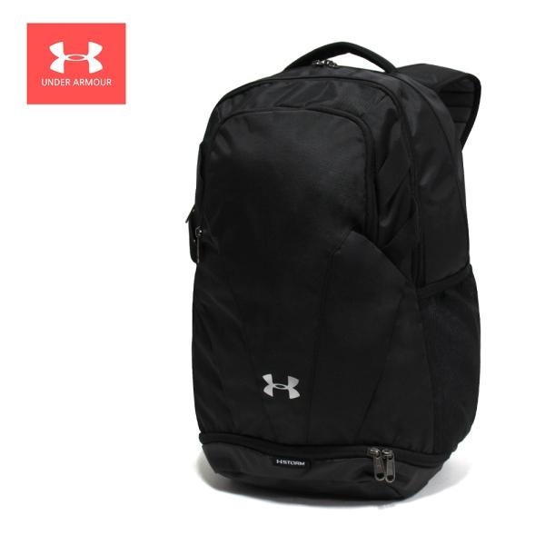 언더아머 언더아머 UA 팀 허슬 3.0 백팩 스포츠 가방 블랙 1306060-001, MISC