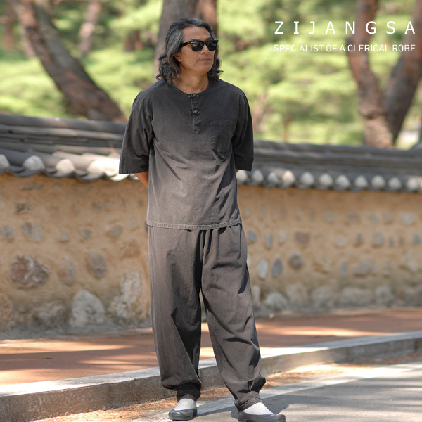 10117 남자30수1번티바지 남자생활한복 개량한복 법복 절복 데일리한복 여름생활한복 남자개량한복