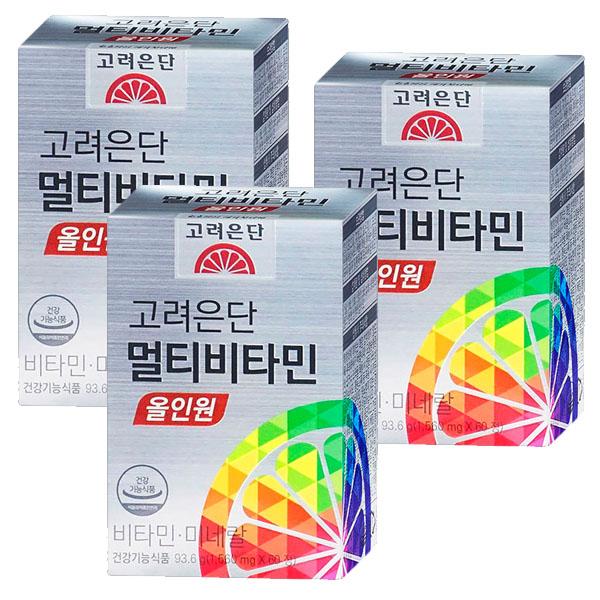 고려은단 멀티비타민 올인원 60정, 3개-5-4674285462