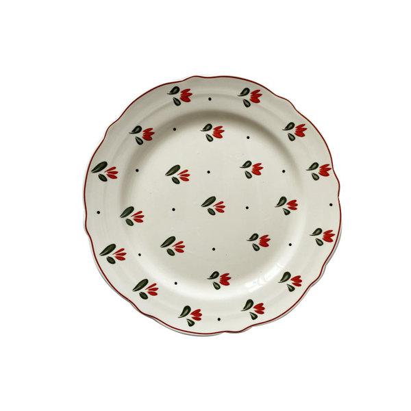 레트로 빈티지 디자인 예쁜 그릇 식기 세라믹 브런치, 타입B