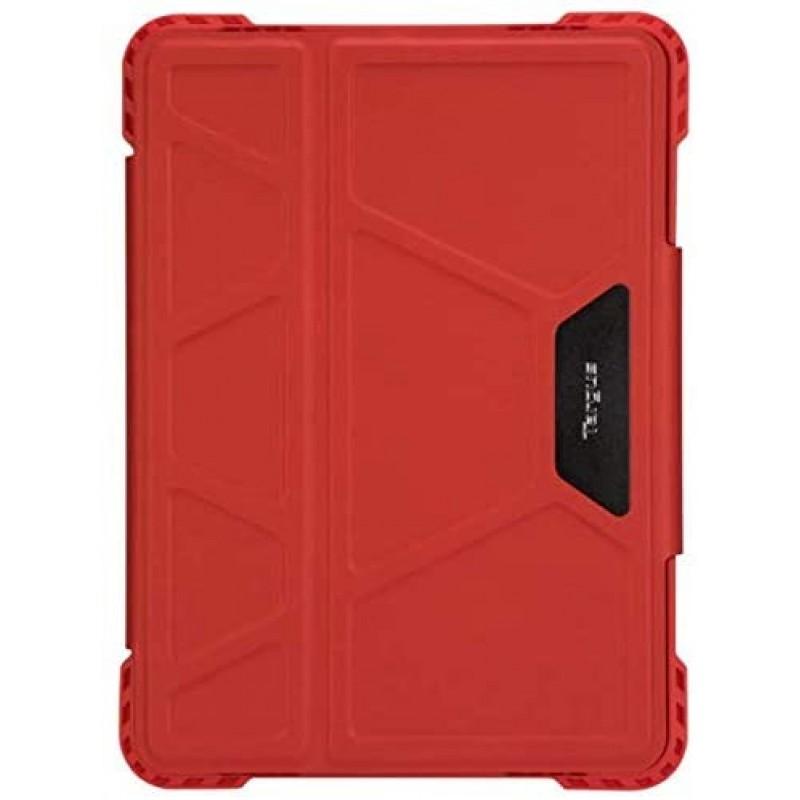 Targus Pro-Tek Apple iPad Pro 11 인치 2 세대 (2020) 및 1 세대 (2018) 회전 케이스 슬림 TriFold 스탠드 커버 스타일러스, 단일옵션
