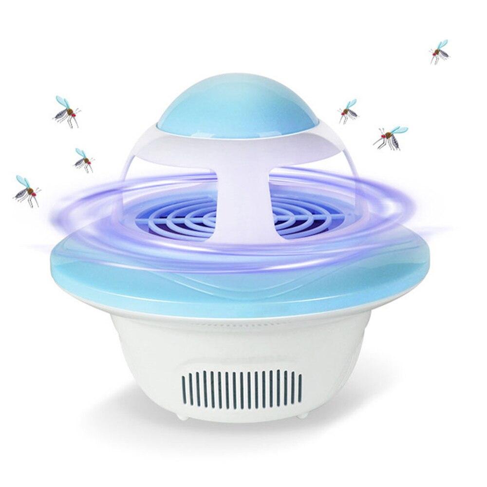 Dc5v usb 전원 led 모기 포수 킬러 트랩 실내 램프 홈 침실 부엌에 대 한 환경 친화적 인 밤 램프, 1개, Pink Shell^0