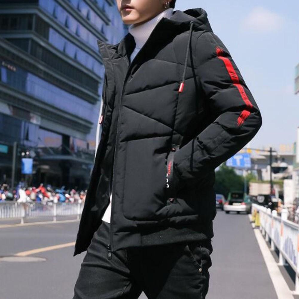 kirahosi 남자 블루종 자켓 간절기 패딩 겨울 보온 점퍼 숏 98호+덧신증정 Rfip77h