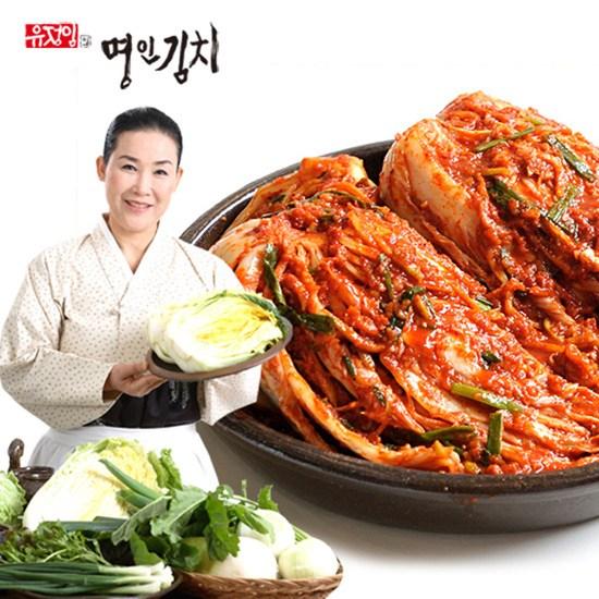 [K쇼핑][식품명인 유정임] 전라도 묵은지 3kg, 단일상품