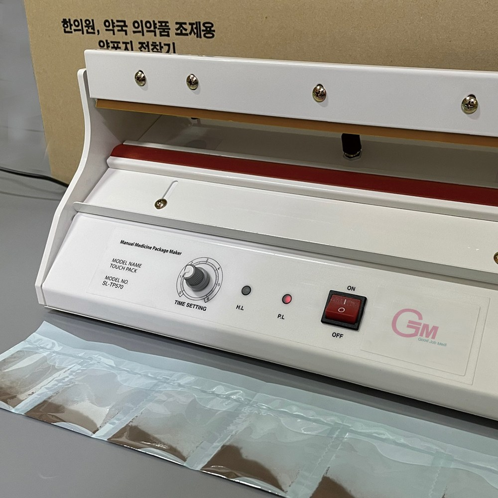 [굿잡메디] 수동 약포장기 (6포용), 1개 (POP 71250176)