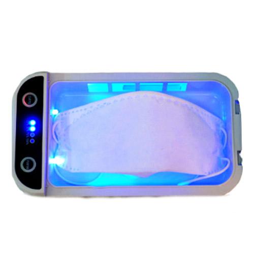 YM 마스크 살균기 소독기 케이스 비말차단 kf-ad kf94 kf80 덴탈 모두가능 휴대폰 스마트폰 다용도살균기 마스크소독기, 마스크 다용도 살균기