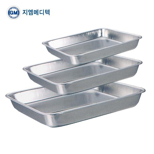 지엠메디텍 개무밧드 8절 (215 x 175 x 25mm / Instrument Tray without lid / 의료용밧드/국산트레이) (POP 5022321718)