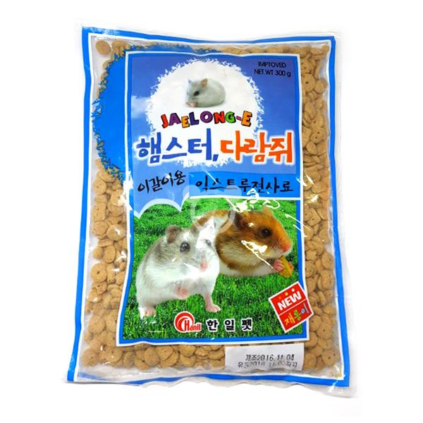 재롱이 익스트루젼 300g 햄스터사료 햄스터푸드 이갈이사료, 1개