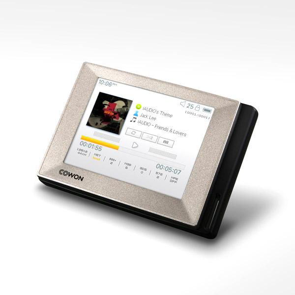 [코원] MP3 D2 플러스+실리콘케이스+이어폰+필름, 실버, 4GB