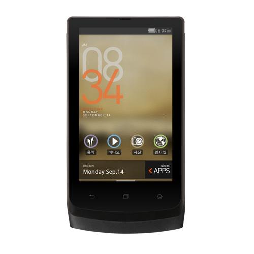 코원 MP3 D3 8GB+CE1정품이어폰+액정보호필름, 블랙, 8GB