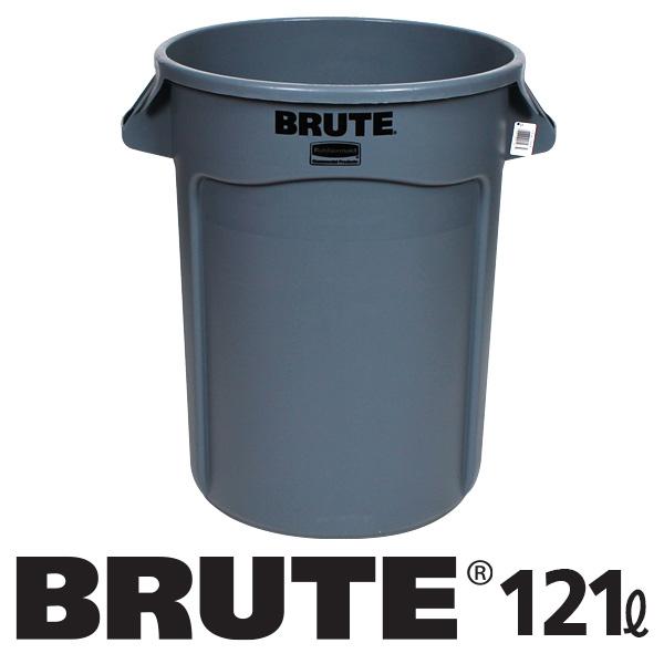 러버메이드 브루트 컨테이너 121L, 회색, 1개