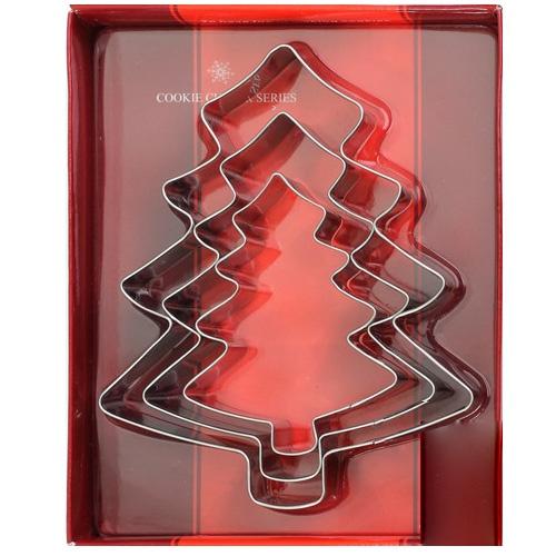 이홈베이킹 크리스마스트리 쿠키커터, 1set