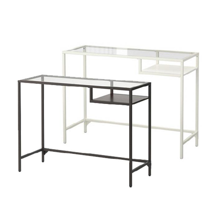 이케아 VITTSJO 노트북 테이블, 화이트