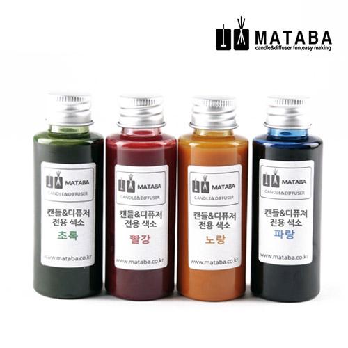 마타바 캔들&디퓨저 겸용 전용색소, 노랑