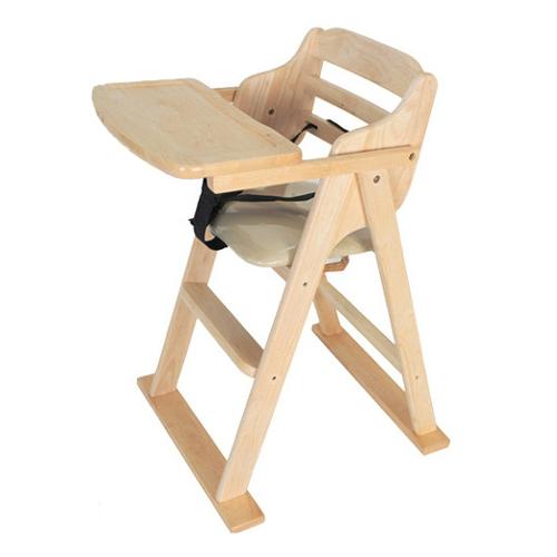 네츄럴홈 유아용 식탁의자, 네츄럴원목