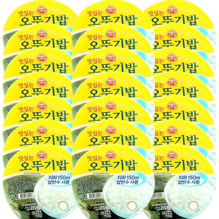오뚜기 맛있는 오뚜기밥, 200g, 21개