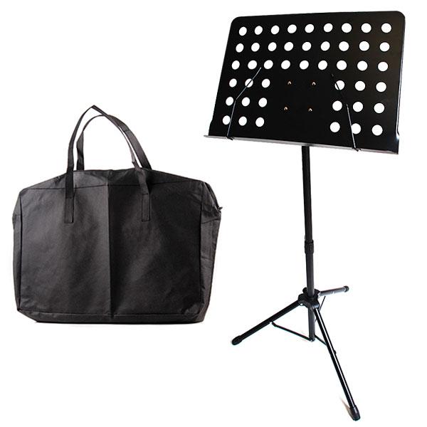최고급보면대 악보 보면대 악기 악보대 거치대 스탠드, (최고급통판보면대+가방)