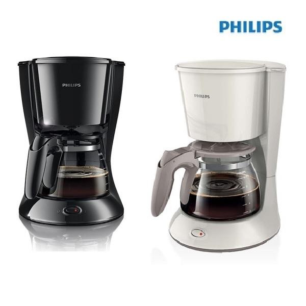 필립스 커피메이커 HD7447 블랙 / 화이트, 필립스 커피메이커 HD7447-화이트, 1개, HD7447블랙