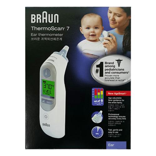 브라운 써모스캔 귀 적외선 체온계 IRT-6520, 화이트