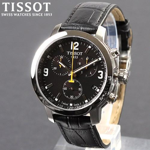 [TISSOT] 티쏘시계 PRC200 가죽크로노 T055.417.16.057.00