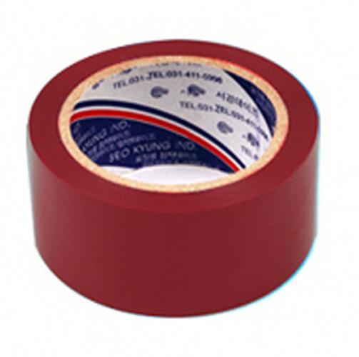 서경테이프 컬러 OPP 테이프, 와인색, 50개