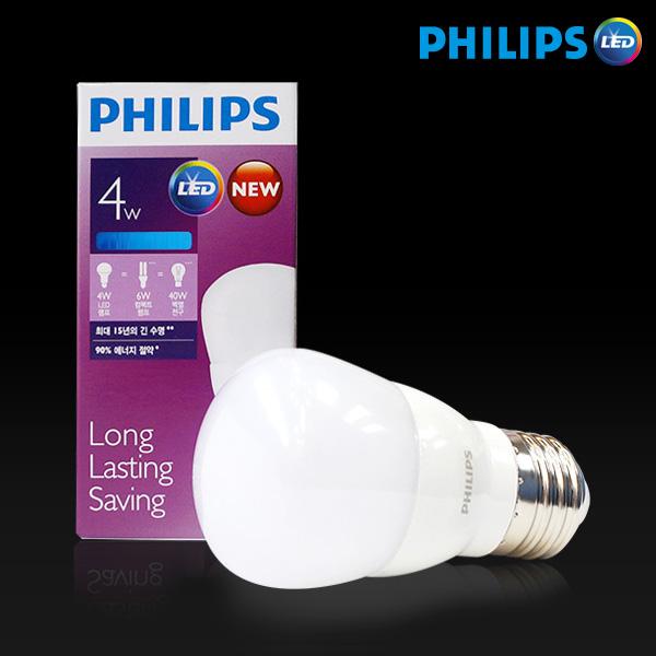 필립스 LED전구 4W, 주광색