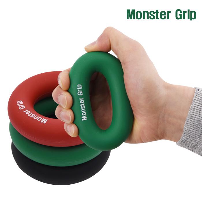 소소일상 몬스터그립 악력기 3종세트 실리콘 고무 손목운동, 1.기본형