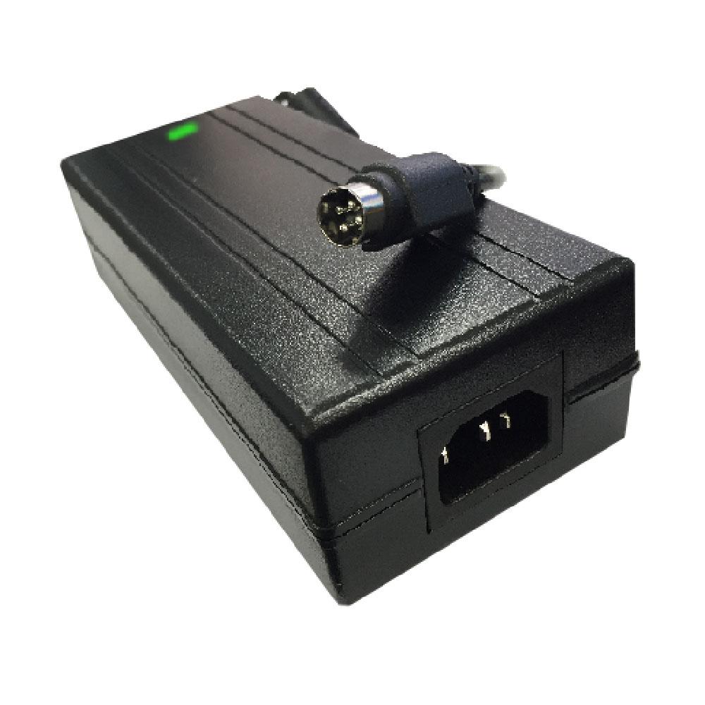 로더스 24V 5A TV LED LCD모니터전용 4pin 국산어댑터, RQ-12024Fb