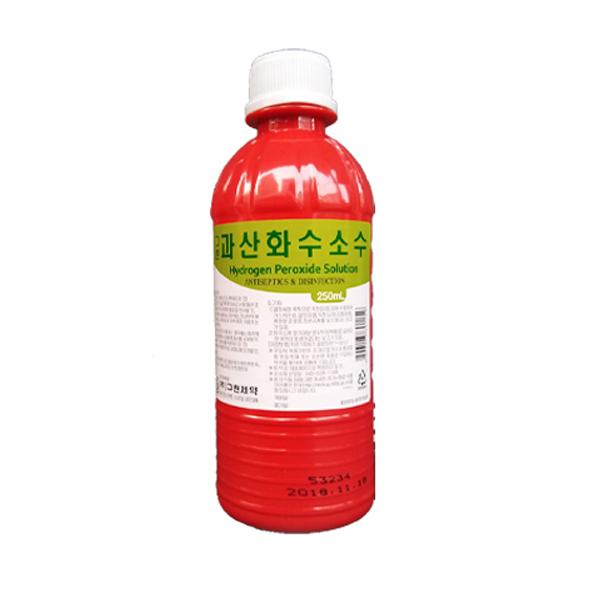 그린제약 소독용 과산화수소수 250ml, 1개