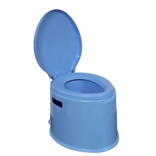 휴대용 멀티 좌변기 블루, 1개
