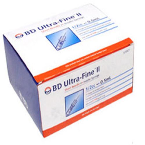 BD 인슐린 주사기, 0.5ml