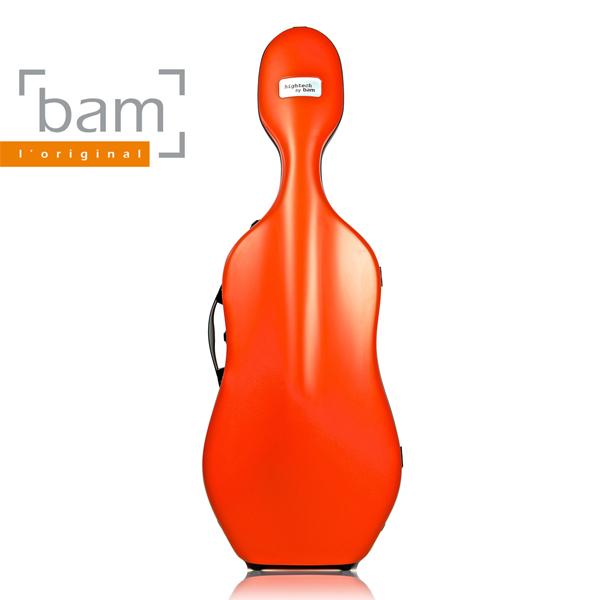 BAM 뱀 하이테크 2.9 슬림 첼로 케이스, 오렌지