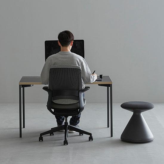 데스커 DSAD112D 컴퓨터데스크(1200x700) 책상, 상판-메이플/다리-화이트