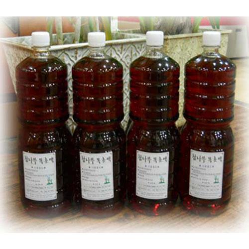 팔팔장작 (10주년특가) 참나무 목초액1.8Lx4병, 1.8L x 4병(6개월숙성)