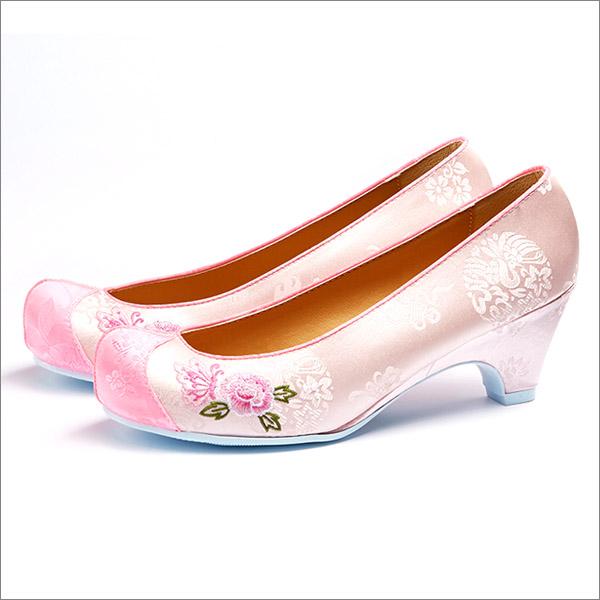 꽃신_G003-한복신발 3cm 5cm굽선택