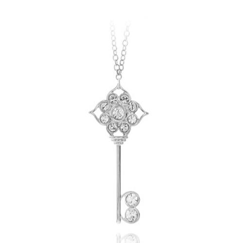 스와로브스키 코리아 정품 브랜드 Adore 목걸이 Symbolic Key Long Necklace RHO JG 5065513