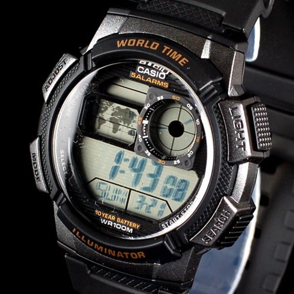 CASIO AE-1000W-1A 카시오시계 스포츠시계 디지털시계