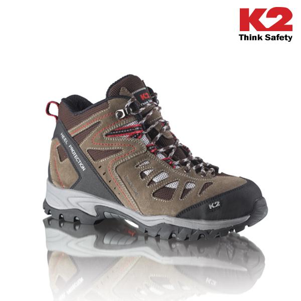 K2 천연가죽 경량 안전화
